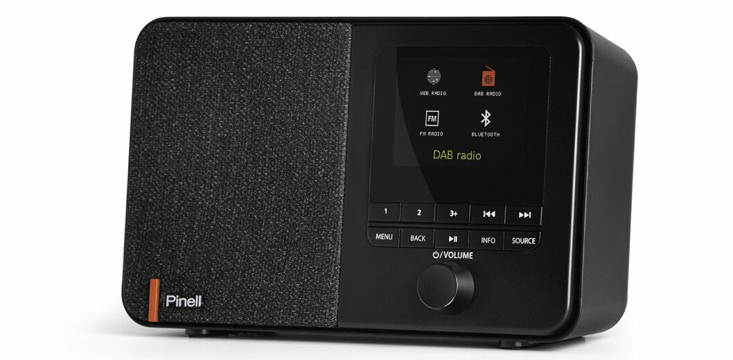 Pinell Supersound 101 er samme radio med internett i tillegg, til 1200 kroner.