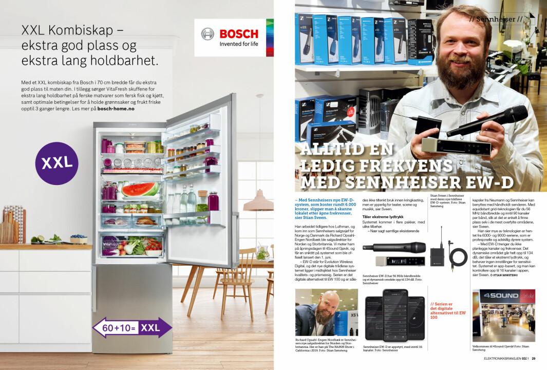 """Artikkelen er tidligere publisert i papirutgaven av fagbladet Elektronikkbransjen nr. 3/2021, som ble distribuert 21. juni. <a target=""""_blank"""" href=""""https://www.mypaper.se/html5/customer/248/13229/?page=28"""" aria-label="""""""">Her kan du lese artikkelen</a> og bla gjennom digitalutgaven av bladet. Du kan lese alle utgaver av bladet digitalt, fra og med nr. 1/1937, på <a target=""""_blank"""" href=""""https://www.elektronikkbransjen.no/historiskarkiv"""" aria-label="""""""">elektronikkbransjen.no/historiskarkiv</a>."""