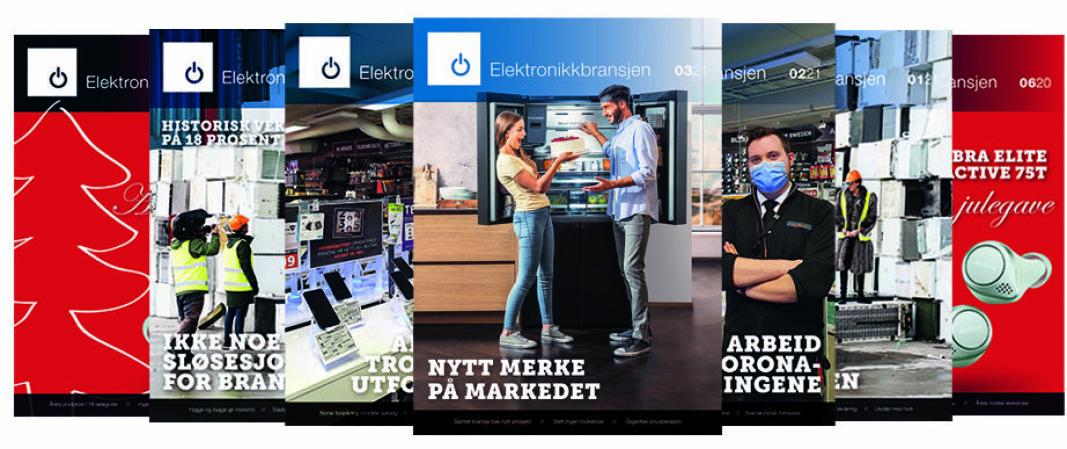 Fagbladet Elektronikkbransjen nr. 3/2021. Illustrasjon: Cathrine Pedersen