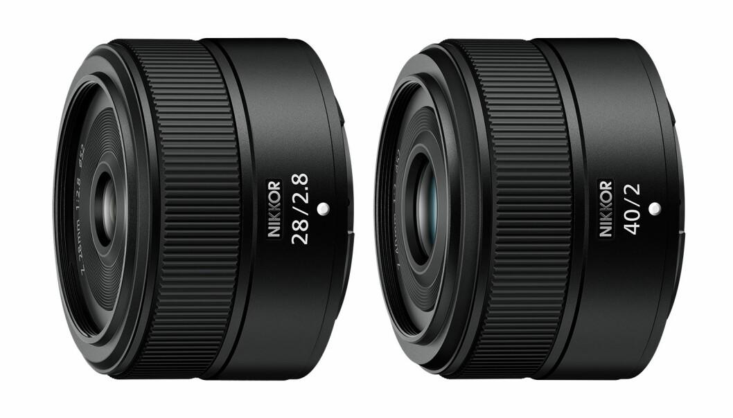Nikkor Z 28mm og 40mm. Foto: Nikon