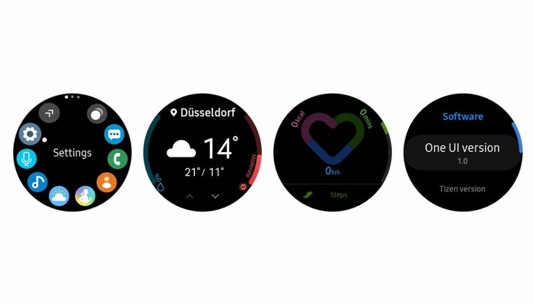 Samsung One UI Watch. Foto: Samsung