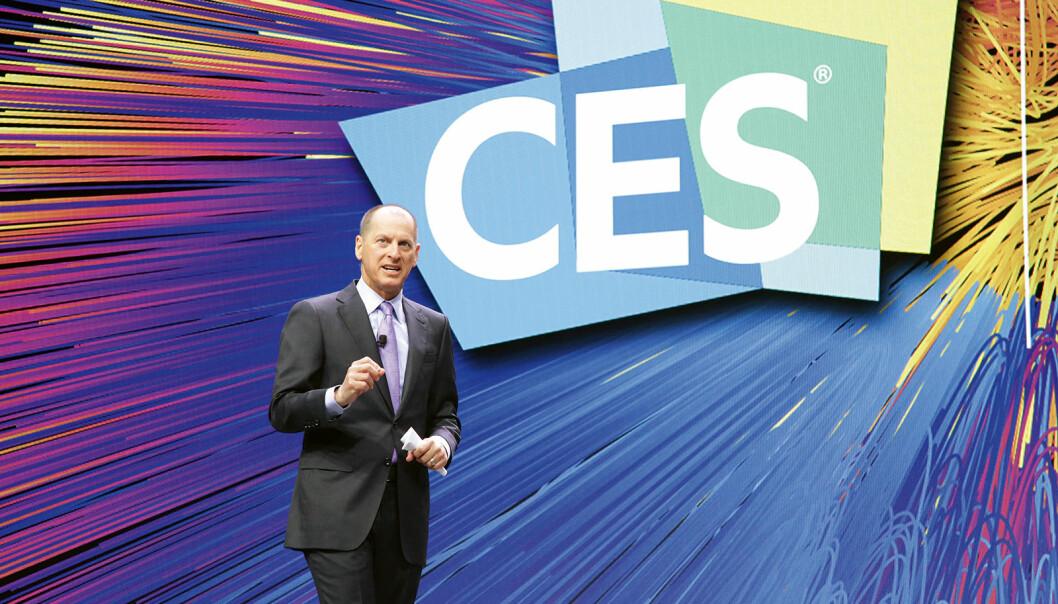 President og administrerende direktør Gary Shapiro i Consumer Technology Association (CTA) krever vaksineattest av deltakere på CES 2022. Foto: CTA
