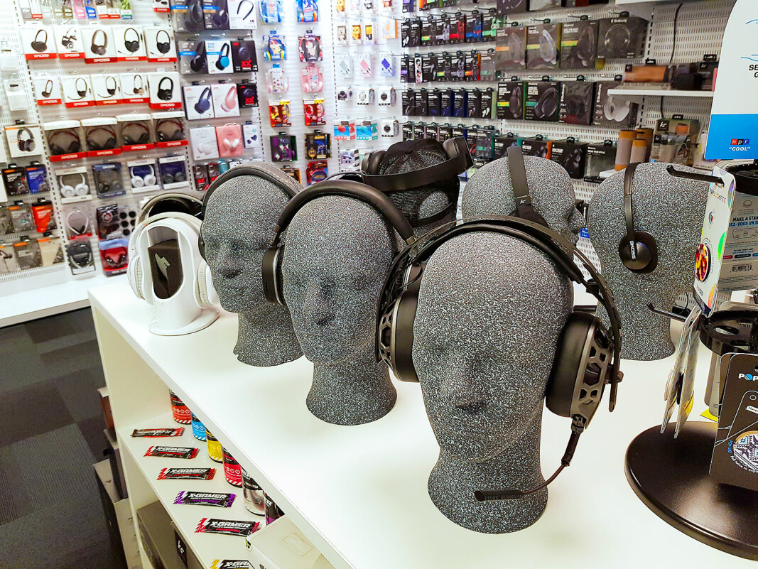 Tura Scandinavia har sett god vekstøkning på hodetelefoner under pandemien. Økt bruk av hjemmekontor er en av årsakene. Foto: Jan Røsholm
