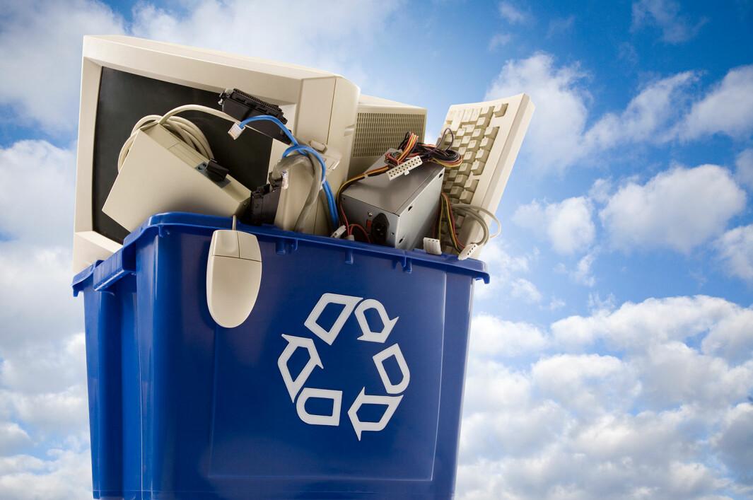 Økt ombruk vil redusere søppelberget. Foto: iStock