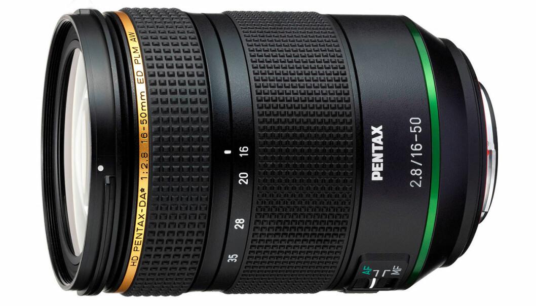 Pentax-DA* 16-50mm f/2,8. Foto: Focus Nordic