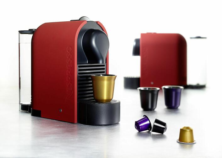 Det har gått mye kaffe så langt i 2021, salget av ulike typer kaffemaskiner øker med åtte prosent. Foto: Nespresso
