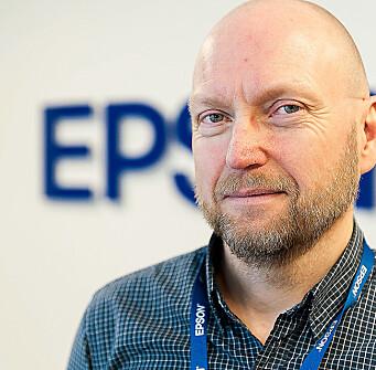 Jan Ove Johansson er forretningskundesjef i Epson Norge. Foto: Epson