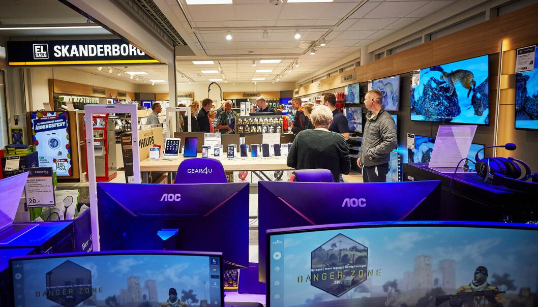 I Danmark er 150 El-Salg-butikker gått inn i Elon-gruppen, som dermed teller 659 nordiske butikker i innkjøpssamarbeidet. Foto: El-Salg