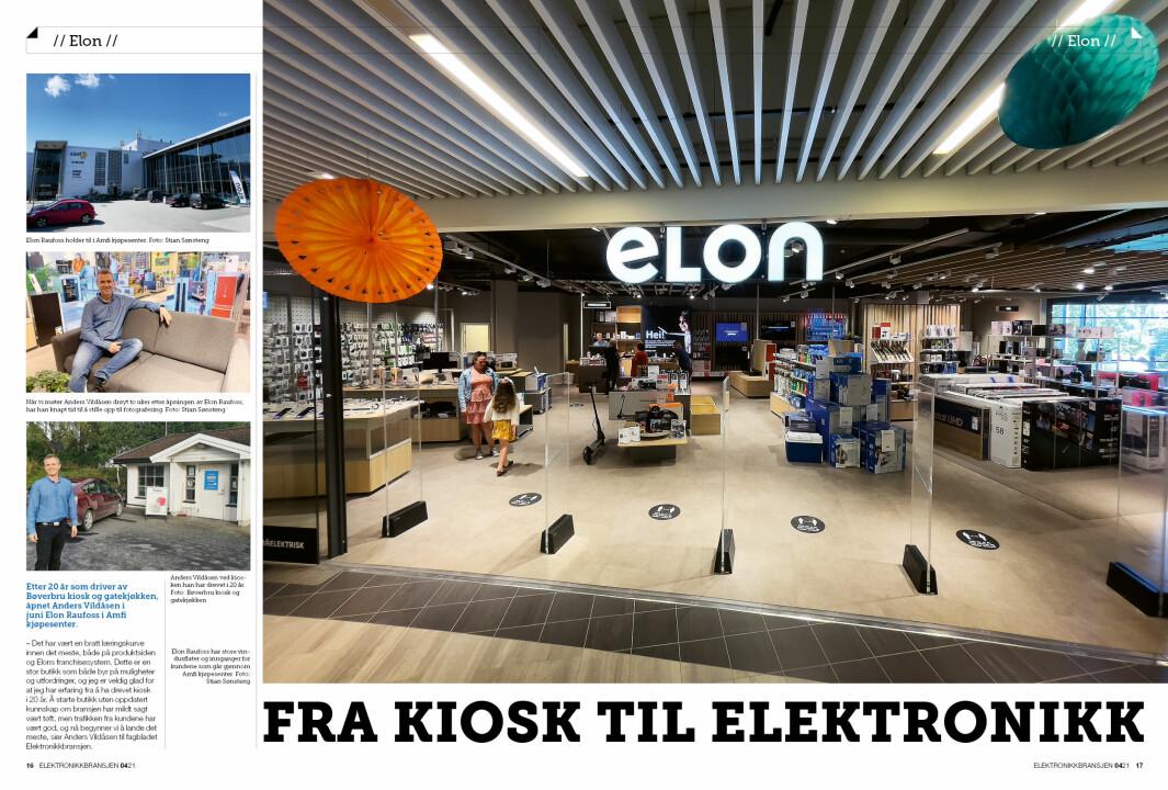 """Artikkelen er tidligere publisert i papirutgaven av fagbladet Elektronikkbransjen nr. 4/2021, som ble distribuert 30. august. <a target=""""_blank"""" href=""""https://www.mypaper.se/html5/customer/248/13267/?page=16"""" aria-label="""""""">Her kan du lese artikkelen</a> og bla gjennom digitalutgaven av bladet. Du kan lese alle utgaver av bladet digitalt, fra og med nr. 1/1937, på <a target=""""_blank"""" href=""""https://www.elektronikkbransjen.no/historiskarkiv"""" aria-label="""""""">elektronikkbransjen.no/historiskarkiv</a>."""