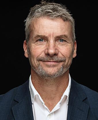 Marthin Storm Hansen, daglig leder i Lenovo Norge, sier den nye, hybride hverdagen krever produkter som både er pene, sikre og lette. Foto: Lenovo