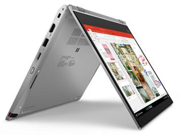 ThinkPad L13 Yoga Gen 2 er selskapets første Windows 10-konvertible bærbare PC, drevet av de nyeste AMD Ryzen Mobile prosessoren