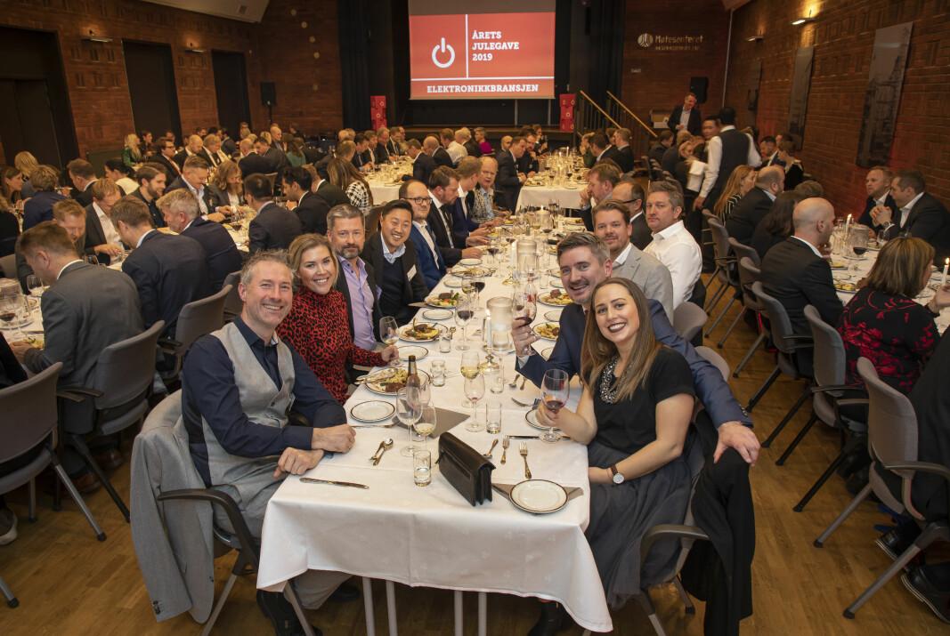 Fra arrangementet i 2019, der Årets produkt 2019/2020 og Årets julegave 2019 ble kåret. Foto: Tore Skaar