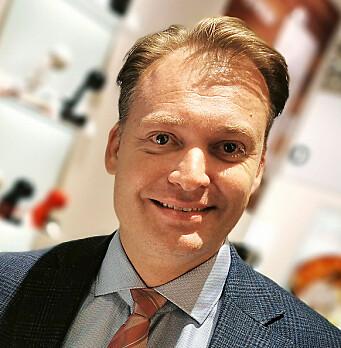 Nordisk salgsdirektør Joachim Laugesen. Foto: Stian Sønsteng