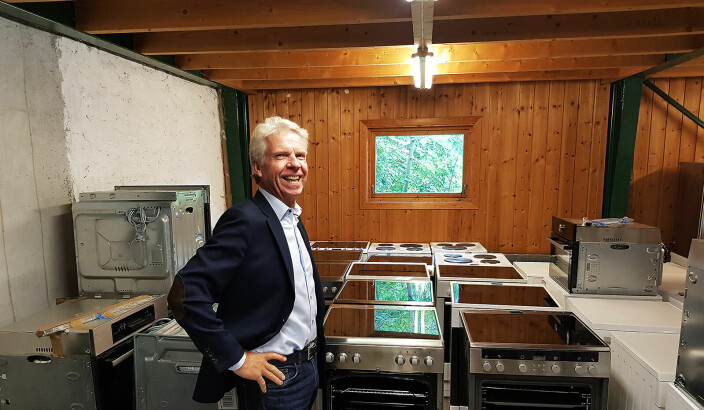 Daglig leder Pål Haugen i OmBrukt AS. Foto: Jan Røsholm
