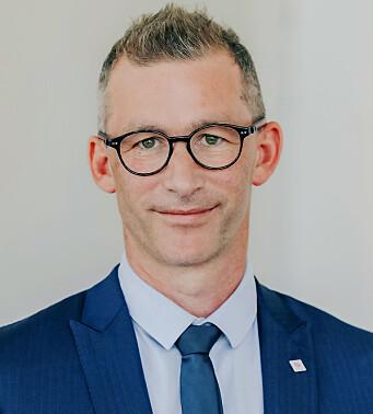 Forbundsleder Christopher Beckham i Handel og Kontor. Foto: Handel og Kontor